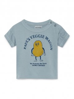 <img class='new_mark_img1' src='https://img.shop-pro.jp/img/new/icons24.gif' style='border:none;display:inline;margin:0px;padding:0px;width:auto;' />Pomme De Terre Short Sleeve T-shirt (baby) 50%off