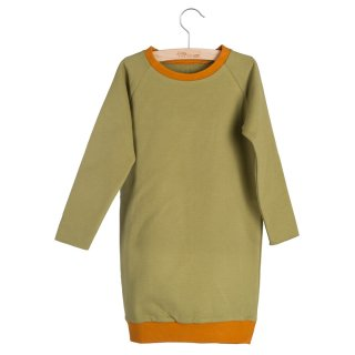 SWEATDRESS RUTH (Olive Drab/Pumpkin Spice)60%off