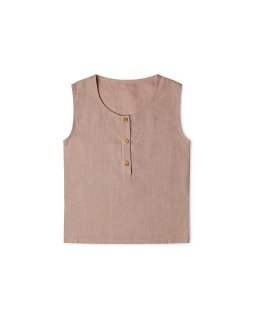 <img class='new_mark_img1' src='https://img.shop-pro.jp/img/new/icons24.gif' style='border:none;display:inline;margin:0px;padding:0px;width:auto;' />20SS Fawn Top(dusty rose) 60%off