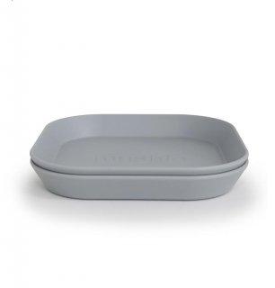 Dinner PlateSquare/ 2set (Cloud)