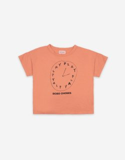 <img class='new_mark_img1' src='https://img.shop-pro.jp/img/new/icons24.gif' style='border:none;display:inline;margin:0px;padding:0px;width:auto;' />(21SS) Playtime Short Sleeve T-shirt 40%off