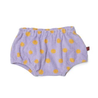 <img class='new_mark_img1' src='https://img.shop-pro.jp/img/new/icons24.gif' style='border:none;display:inline;margin:0px;padding:0px;width:auto;' />(21SS) Baby Jersey Bloomer/Lilac Dot 40%off