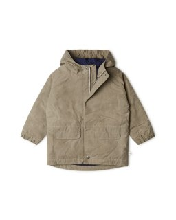 <img class='new_mark_img1' src='https://img.shop-pro.jp/img/new/icons15.gif' style='border:none;display:inline;margin:0px;padding:0px;width:auto;' />(21AW) Jaro Waxed Cotton Jacket / stone