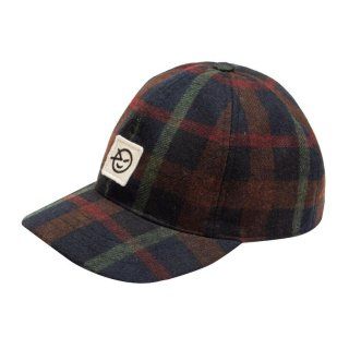 <img class='new_mark_img1' src='https://img.shop-pro.jp/img/new/icons15.gif' style='border:none;display:inline;margin:0px;padding:0px;width:auto;' />(21AW) Badge Cap/ Navy Plaid
