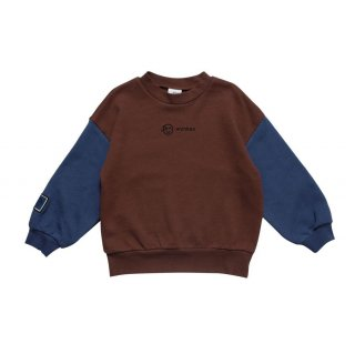<img class='new_mark_img1' src='https://img.shop-pro.jp/img/new/icons15.gif' style='border:none;display:inline;margin:0px;padding:0px;width:auto;' />(21AW) Band Sweat/ Marron×Night Blue