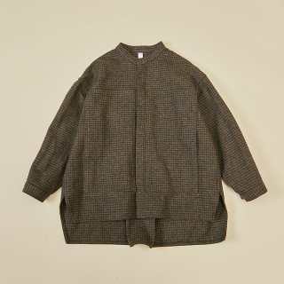 <img class='new_mark_img1' src='https://img.shop-pro.jp/img/new/icons15.gif' style='border:none;display:inline;margin:0px;padding:0px;width:auto;' />(21AW) cotton tweed shirts/ brown