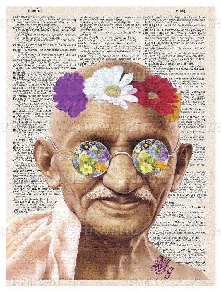 Gandhi Flower