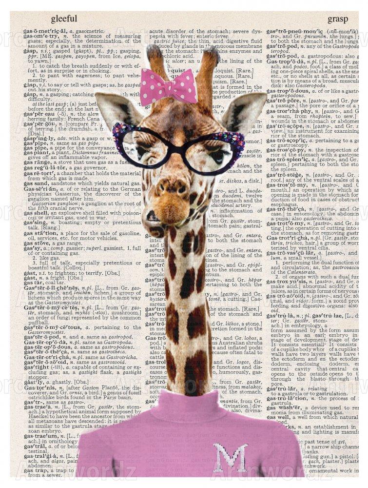 Pinky Female Giraffe