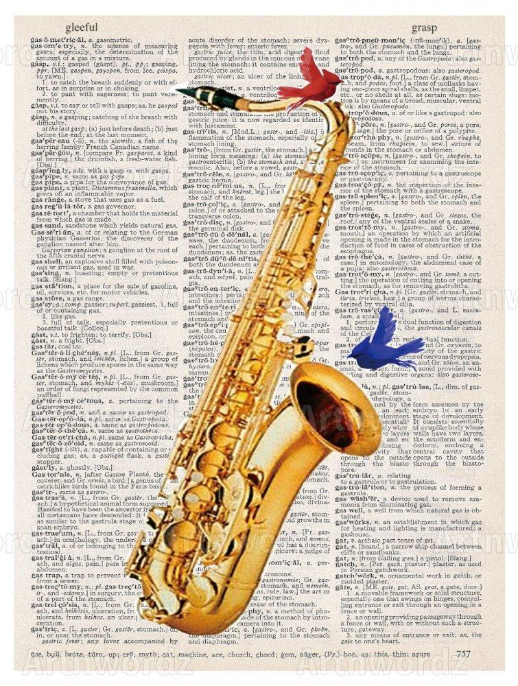 Saxophone Birds