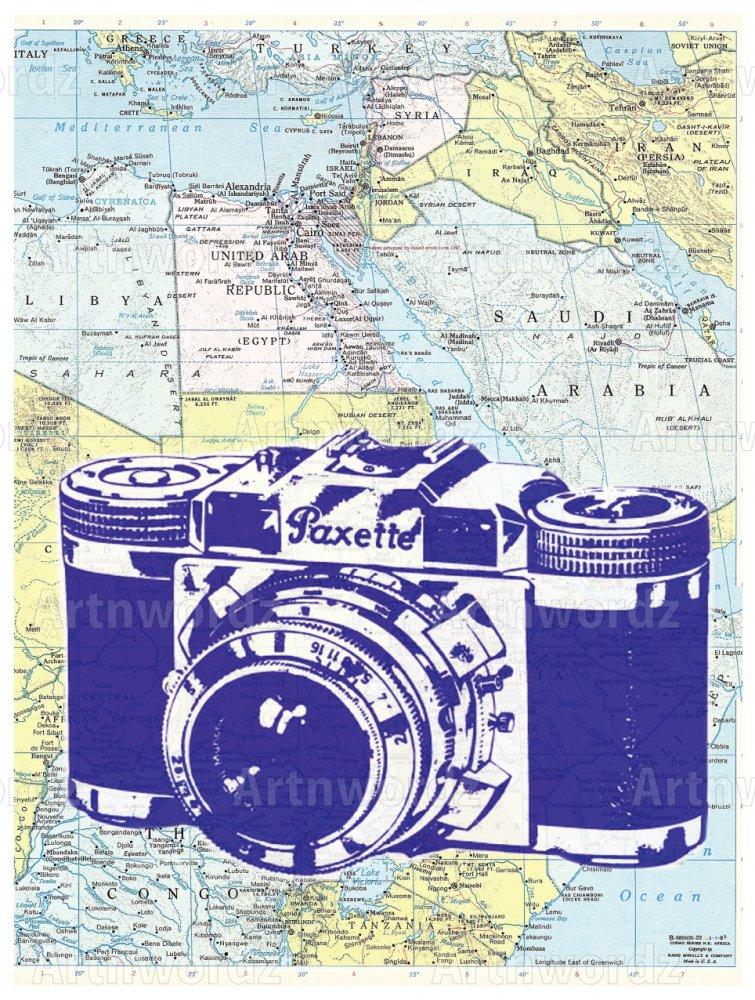 Paxette Camera Atlas