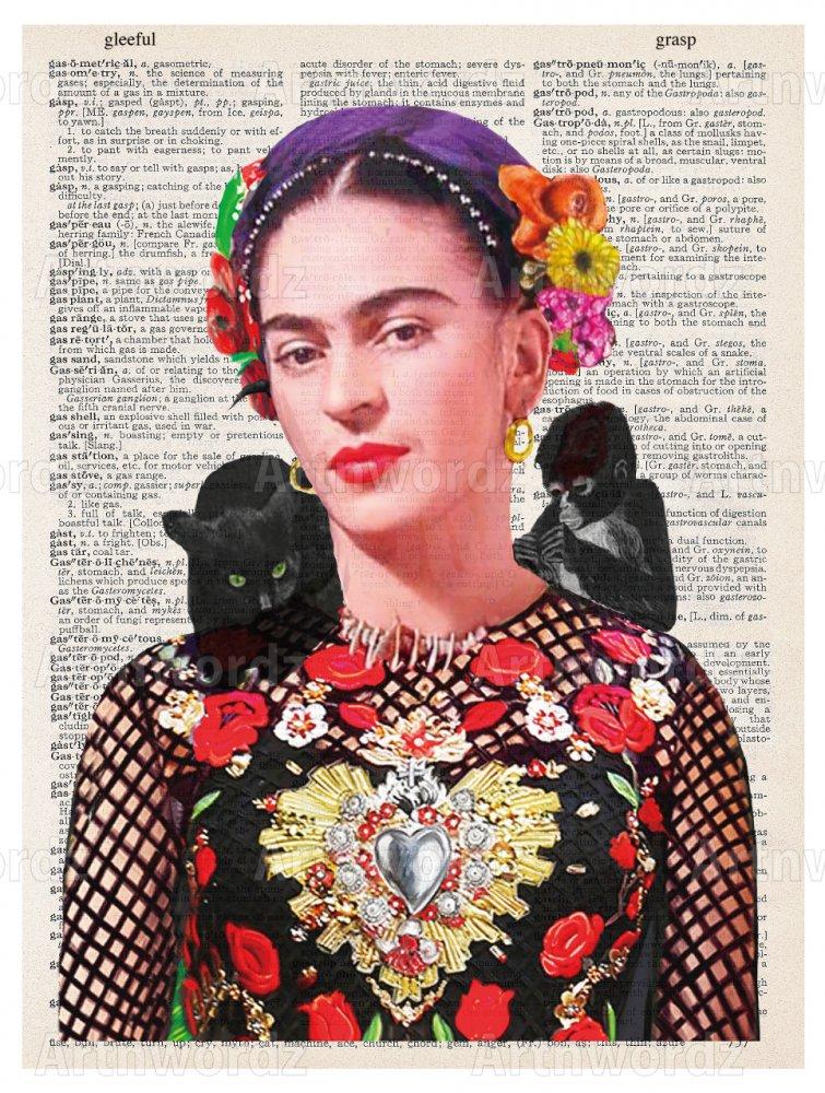 Frida Kahlo Nature