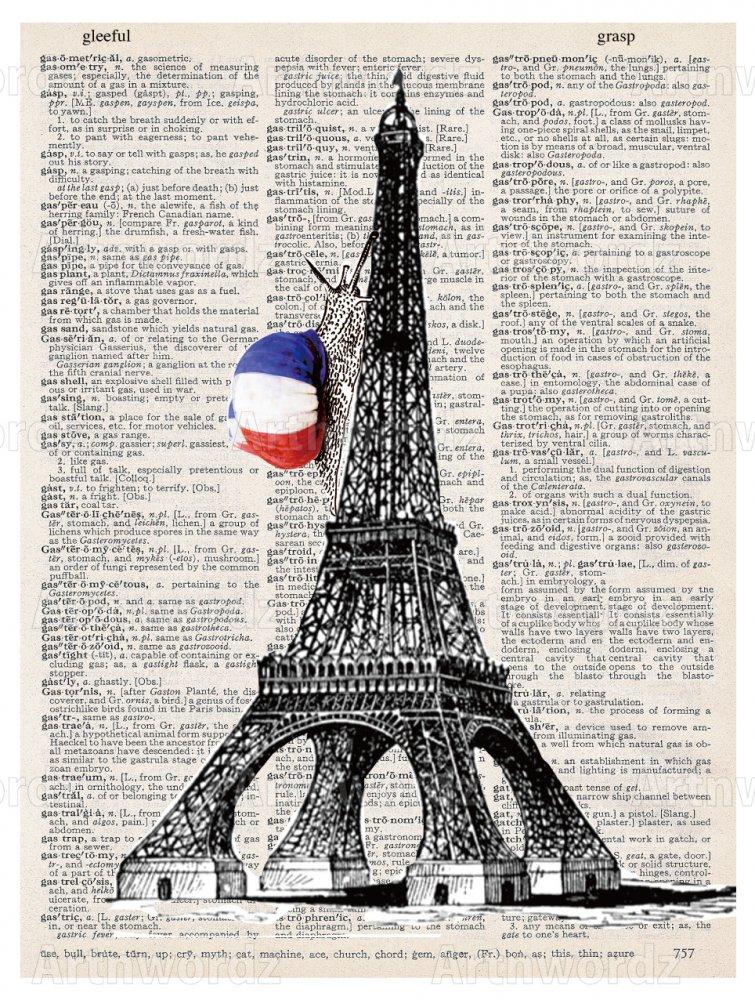 Eiffel Snail Paper