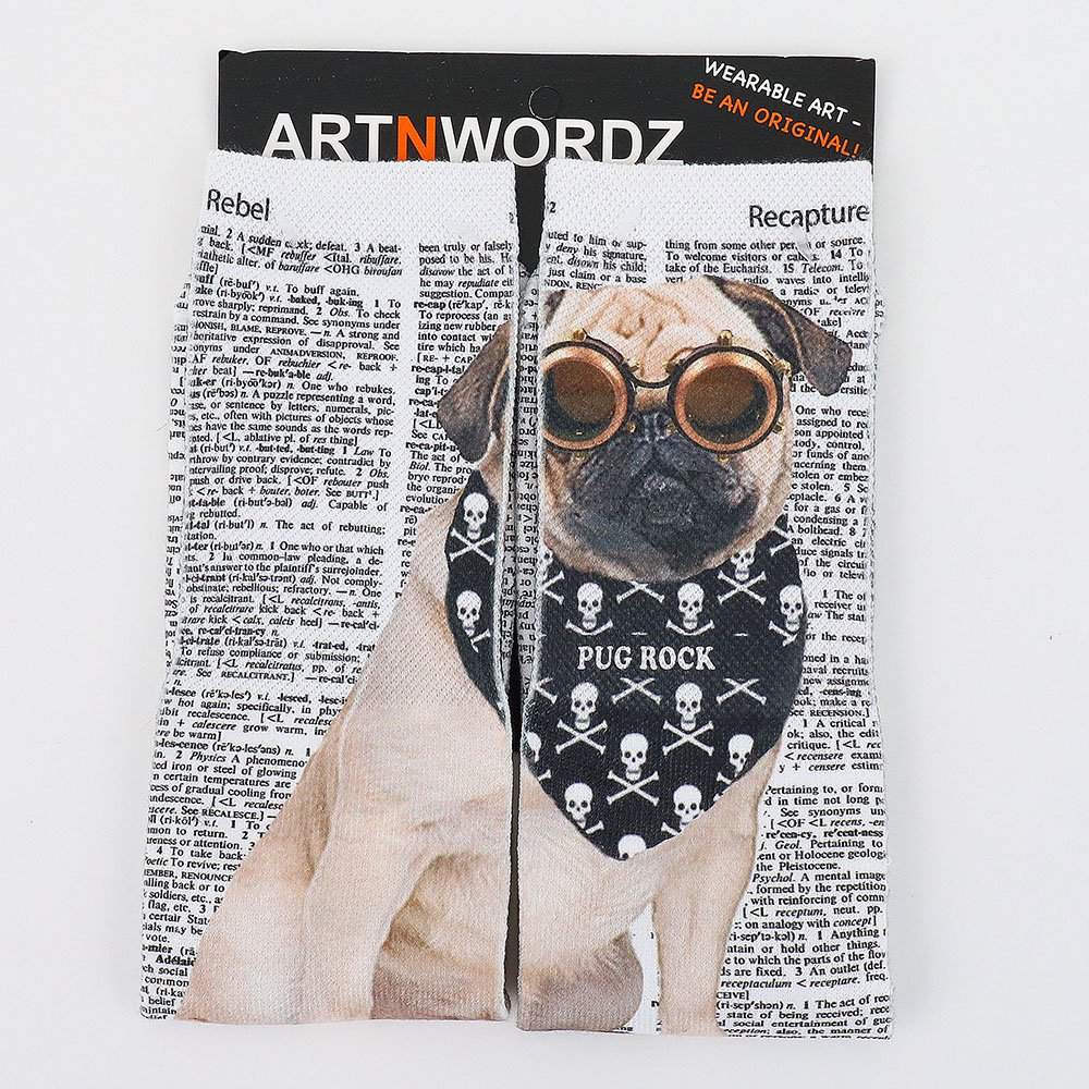 <img class='new_mark_img1' src='https://img.shop-pro.jp/img/new/icons52.gif' style='border:none;display:inline;margin:0px;padding:0px;width:auto;' />ソックス  (Steam Punk Pug)