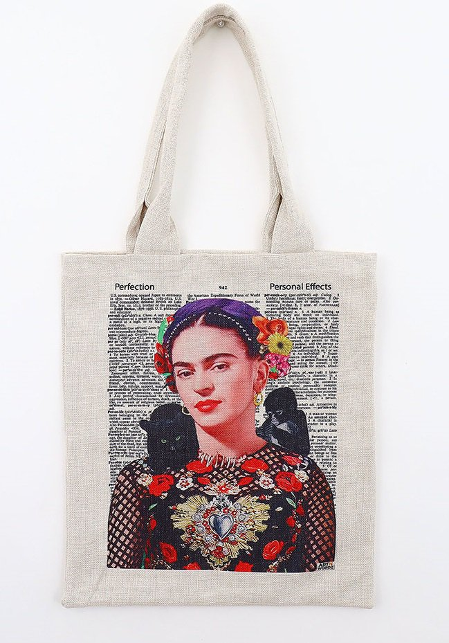 トートバックL(Frida Kahlo Nature)