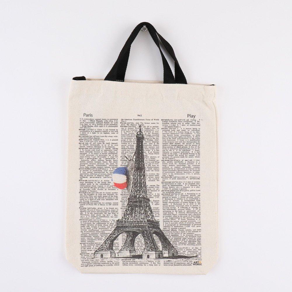 トートバッグM (Eiffel Snail Paper)