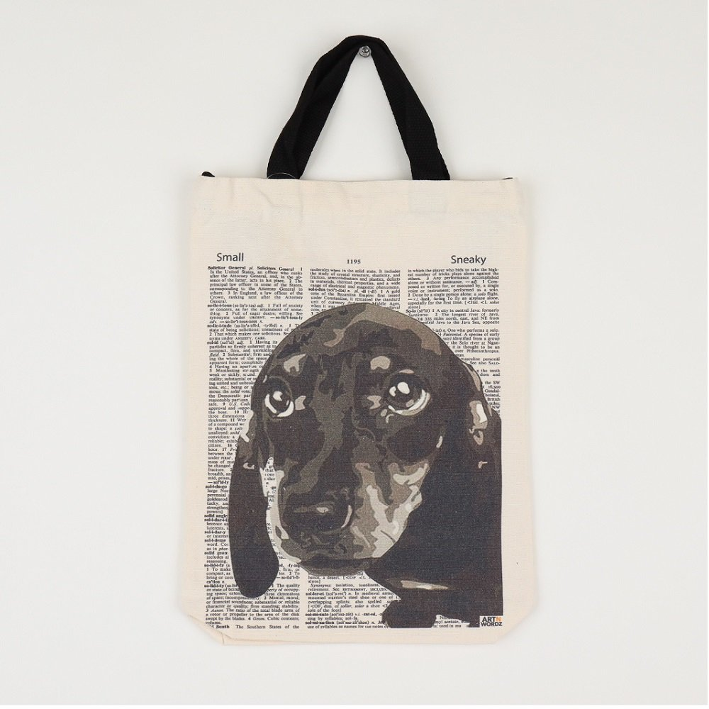 <img class='new_mark_img1' src='https://img.shop-pro.jp/img/new/icons25.gif' style='border:none;display:inline;margin:0px;padding:0px;width:auto;' />トートバッグM (Dachshund Face)