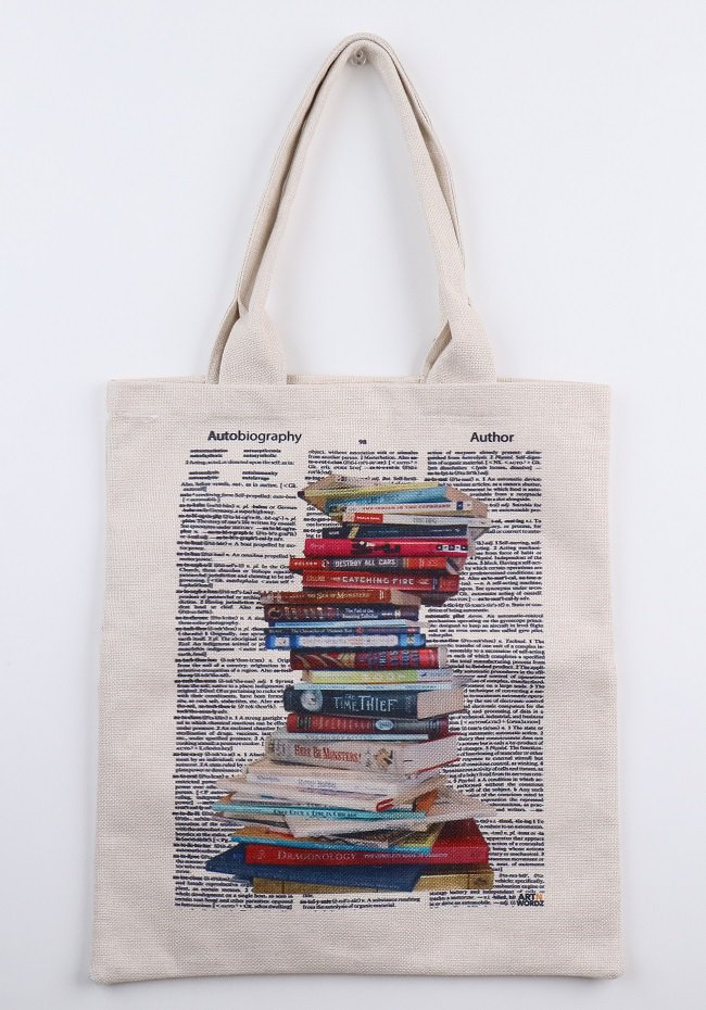 トートバックL(Staked Books)
