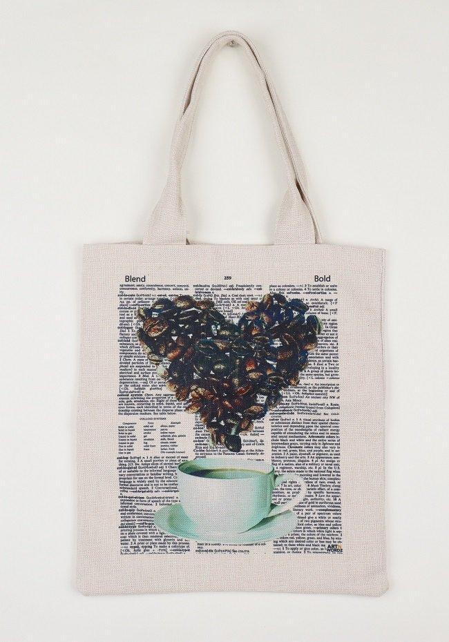 トートバックL(Coffee Love)