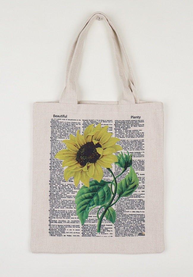 トートバックL(Sunflower)