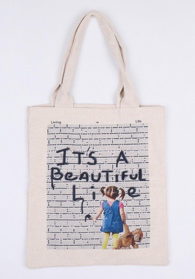 トートバックL(Beautiful Lie)