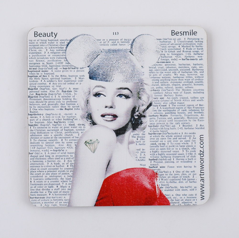 <img class='new_mark_img1' src='https://img.shop-pro.jp/img/new/icons1.gif' style='border:none;display:inline;margin:0px;padding:0px;width:auto;' />コースター(Marilyn Forever)