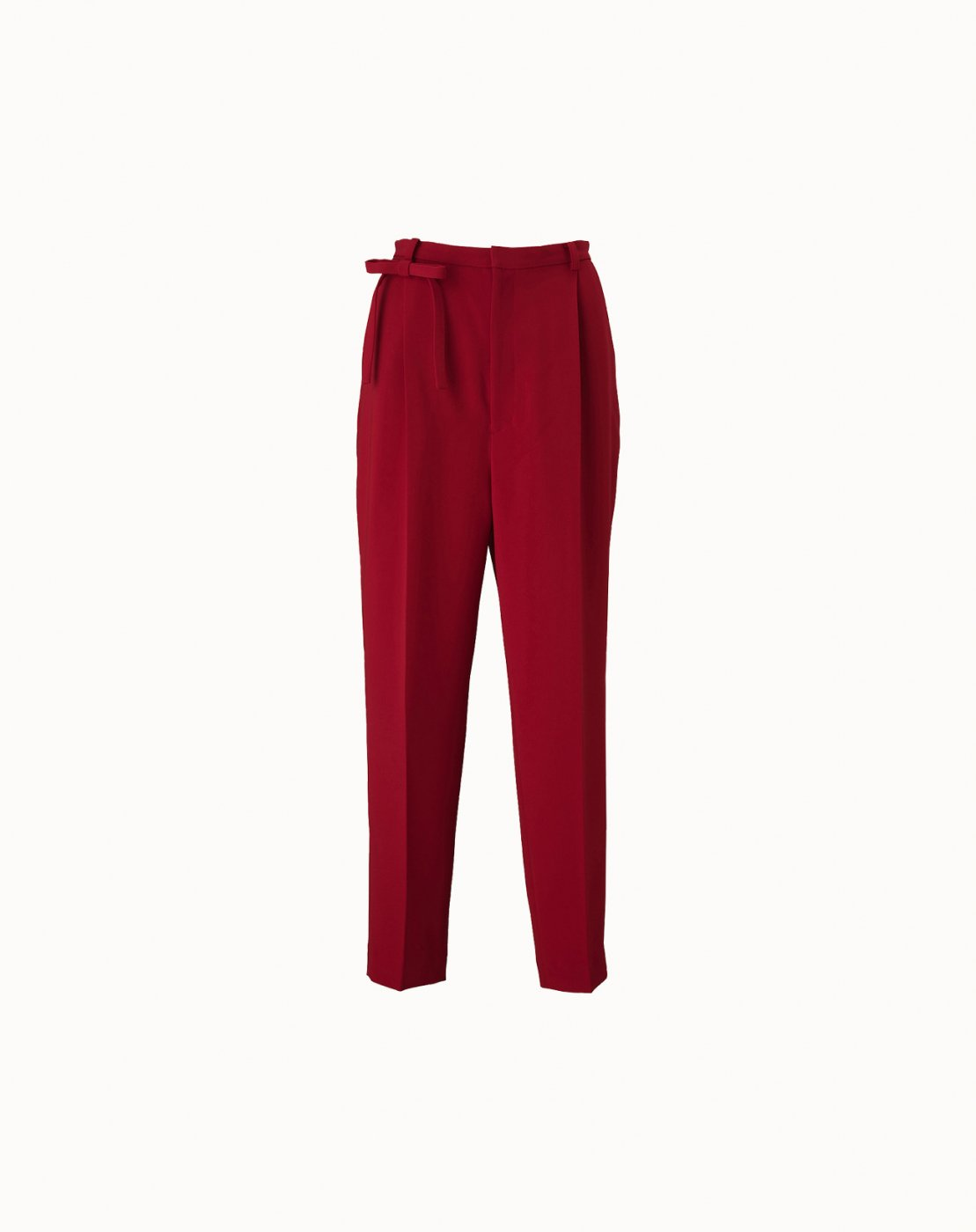 leur logette - Double Georgette Pants - Red