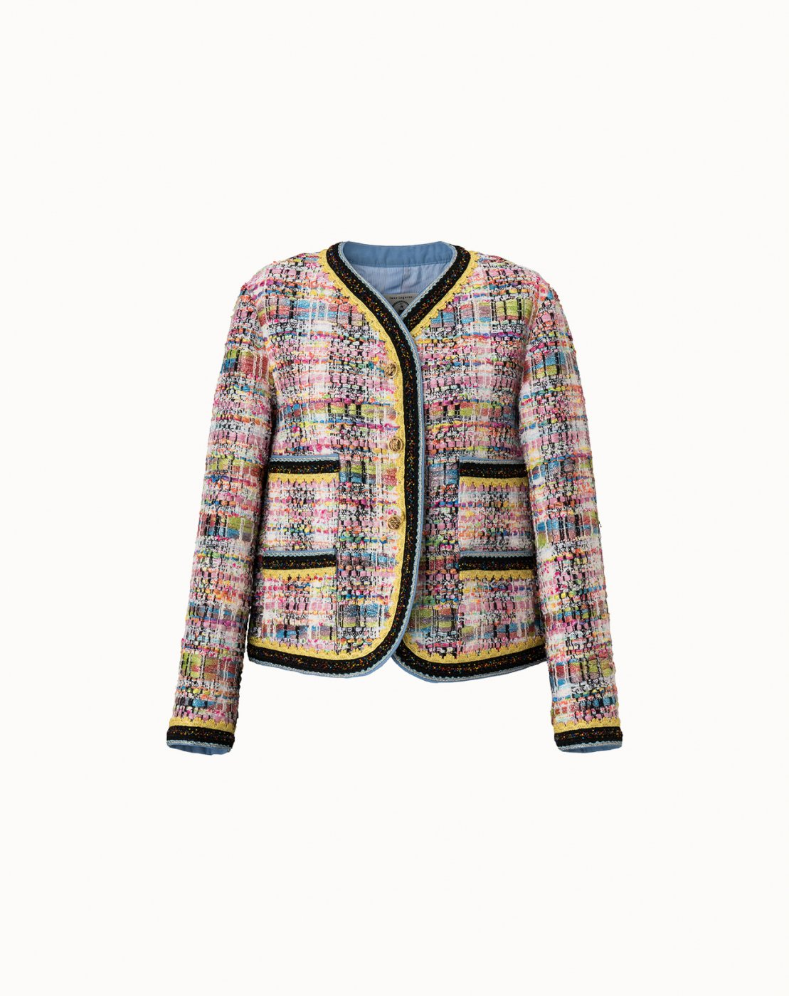 leur logette - Candy Tweed Jacket - Off-White