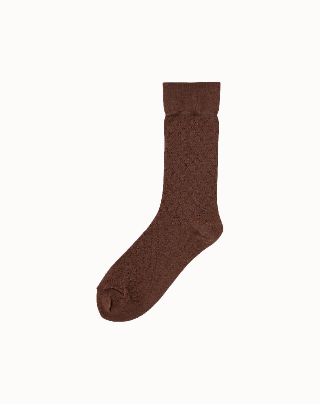 leur logette - Mesh Socks - Brown