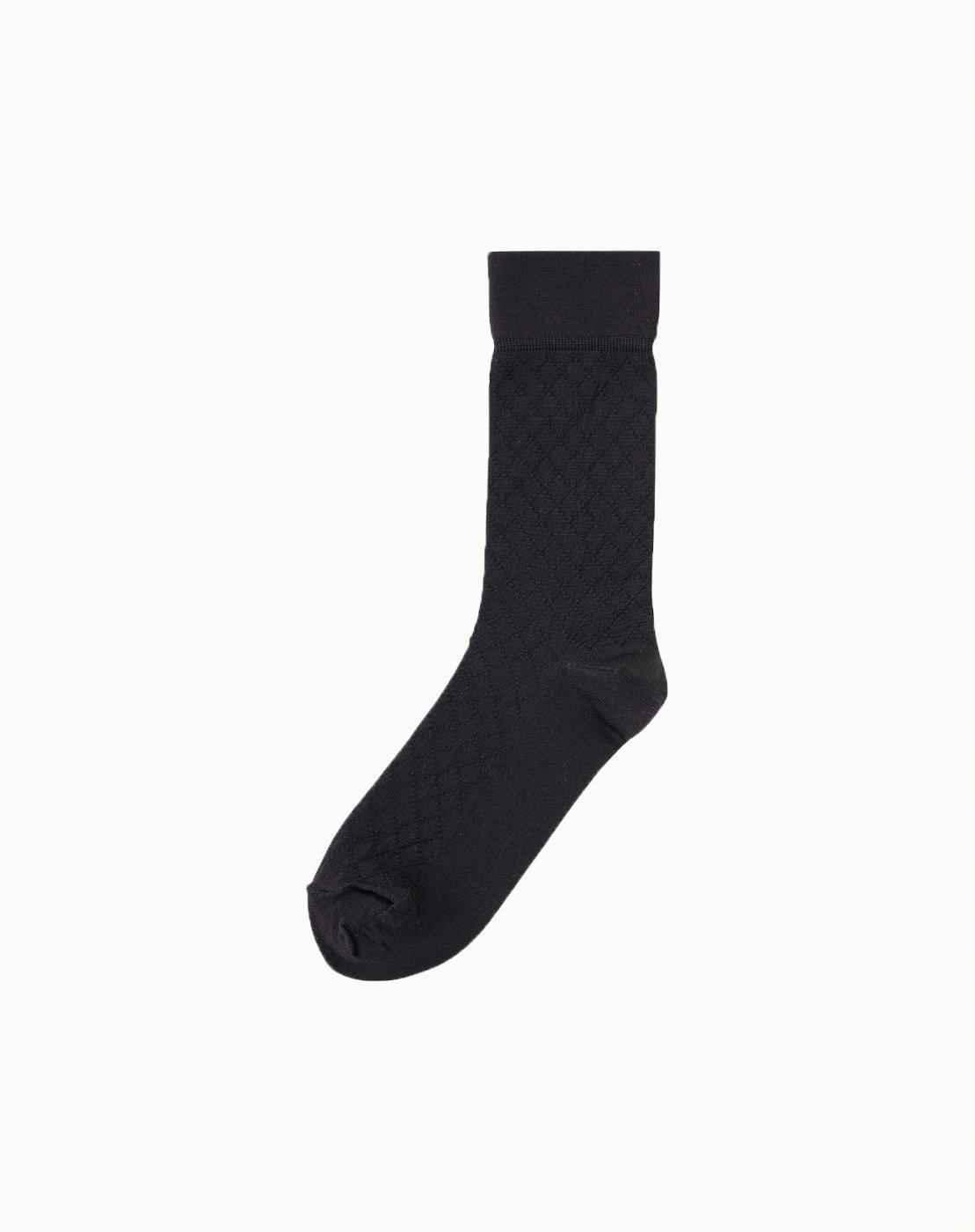 leur logette - Mesh Socks - Black