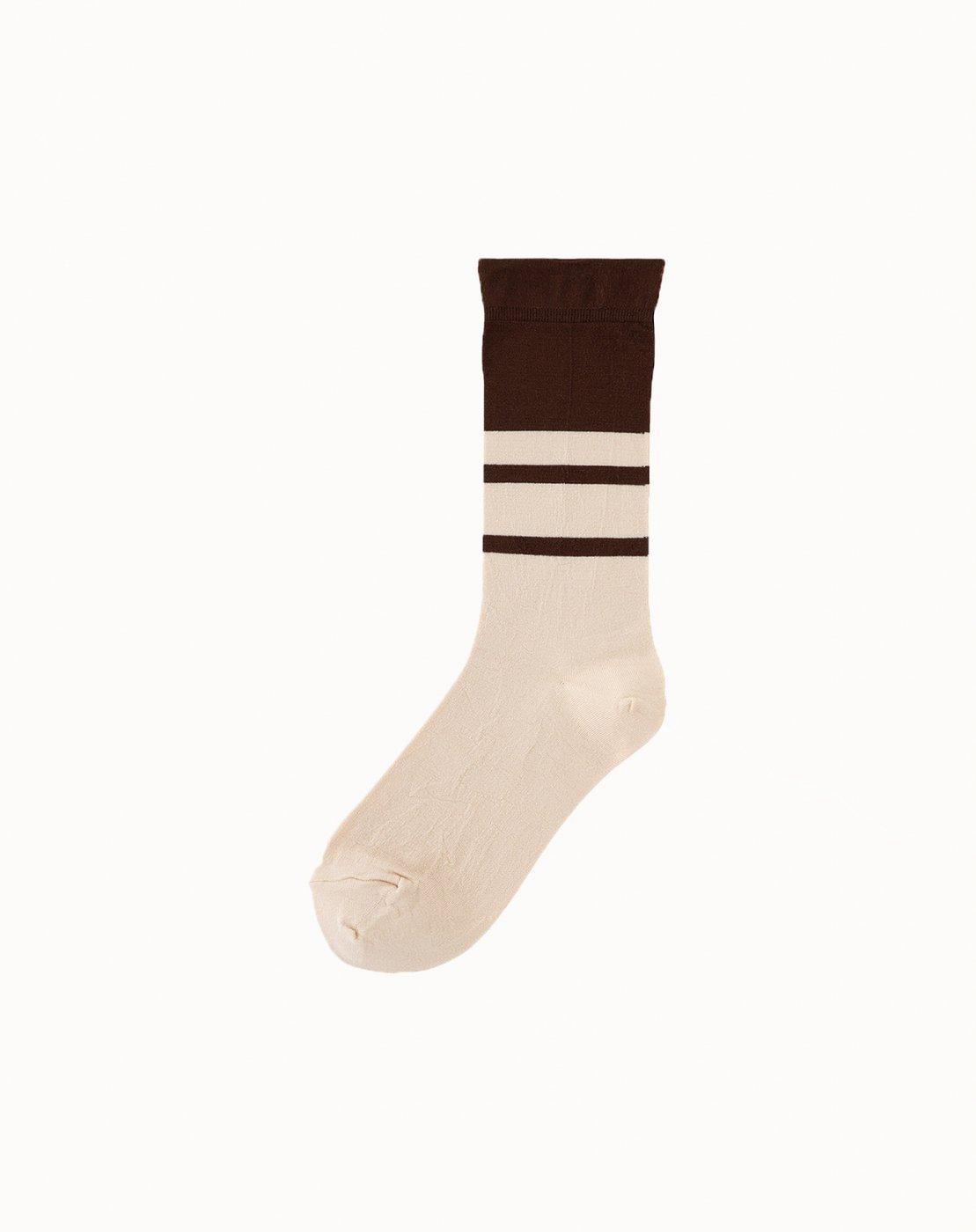 leur logette - Bicolor Socks - Off White