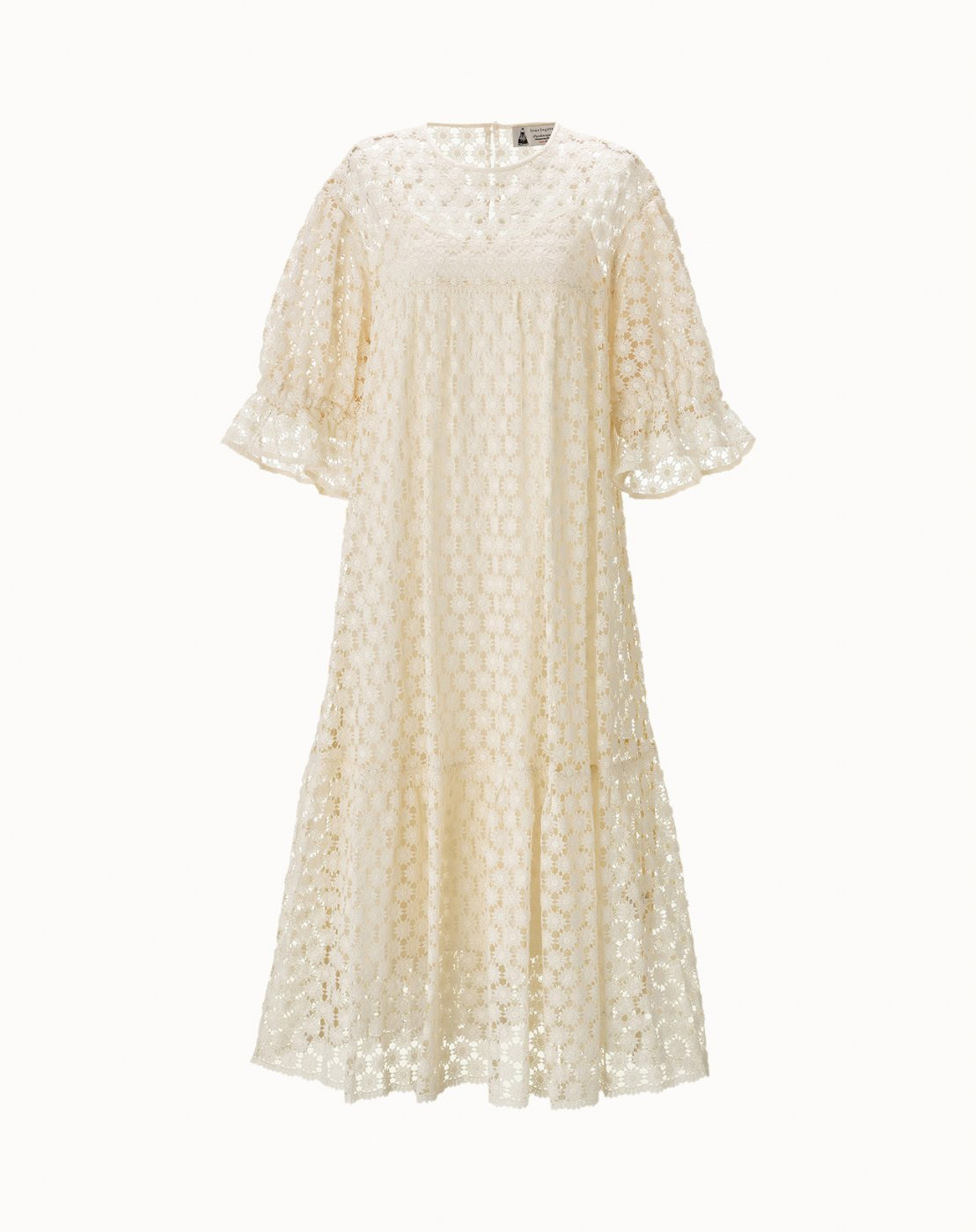 leur logette - Embroidery Dress - Off White