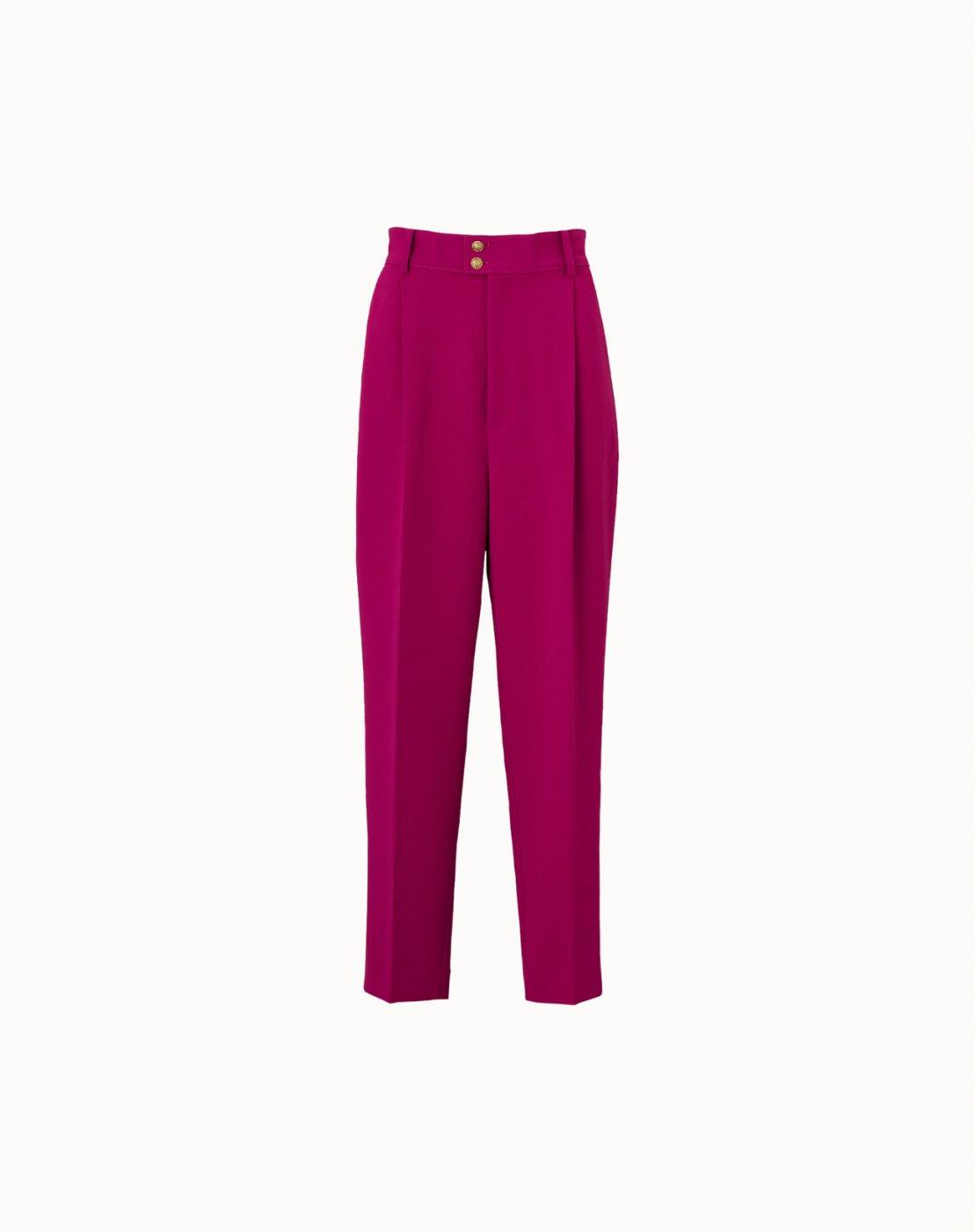 leur logette - Georgette Pants - Dark Pink