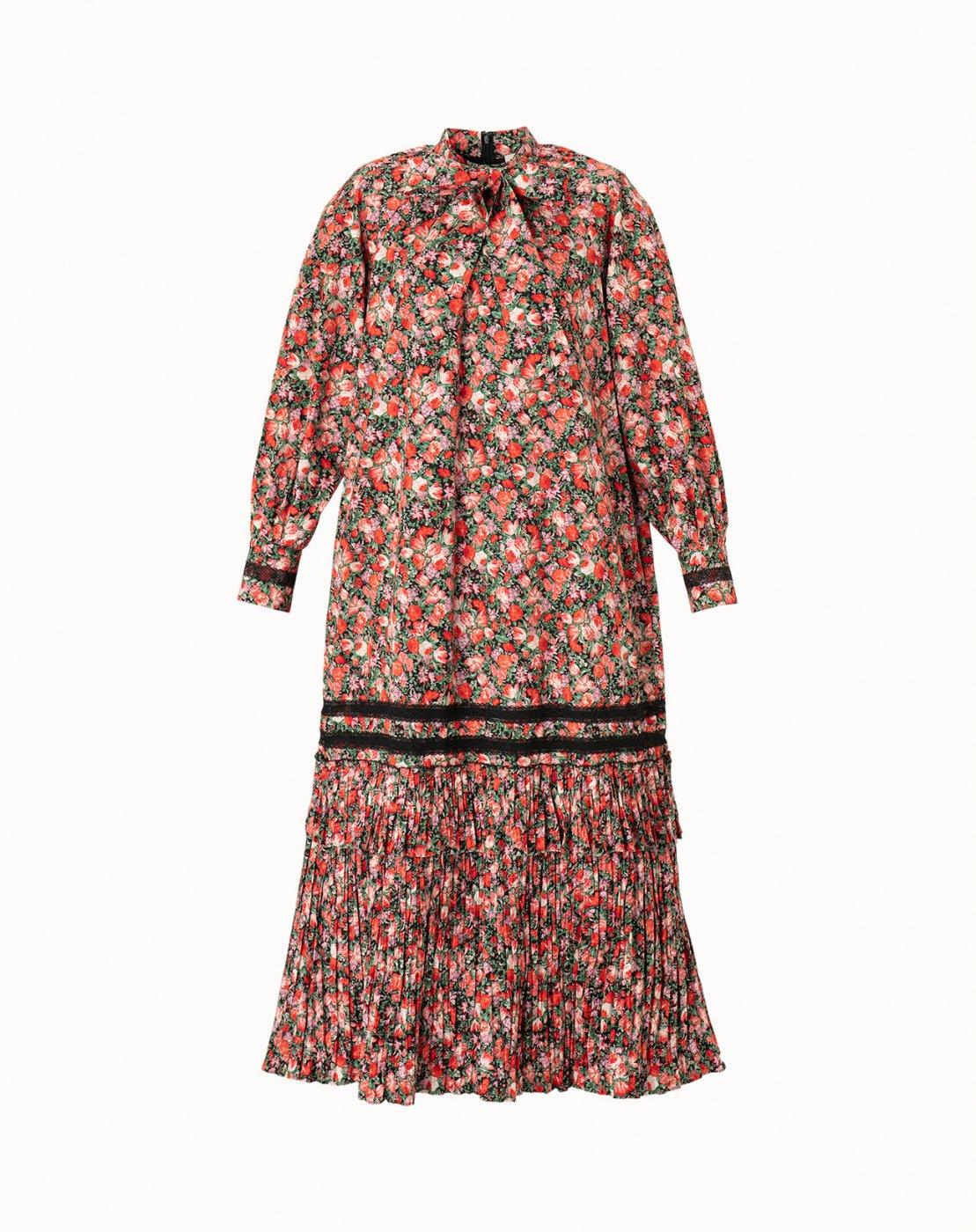 leur logette - Matisse Flower Print Dress - Red