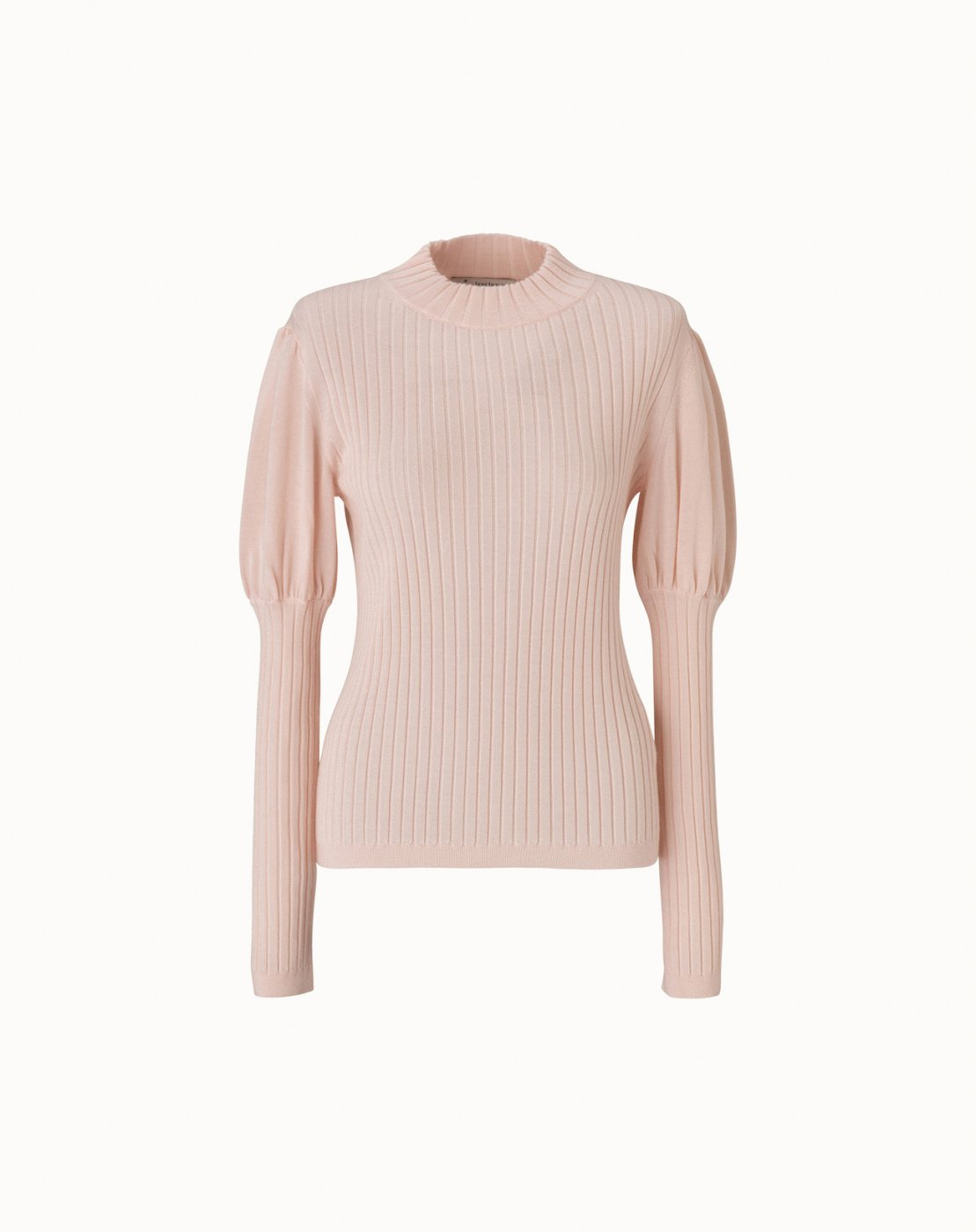 leur logette - Cashmere Silk Rib Top - Pink