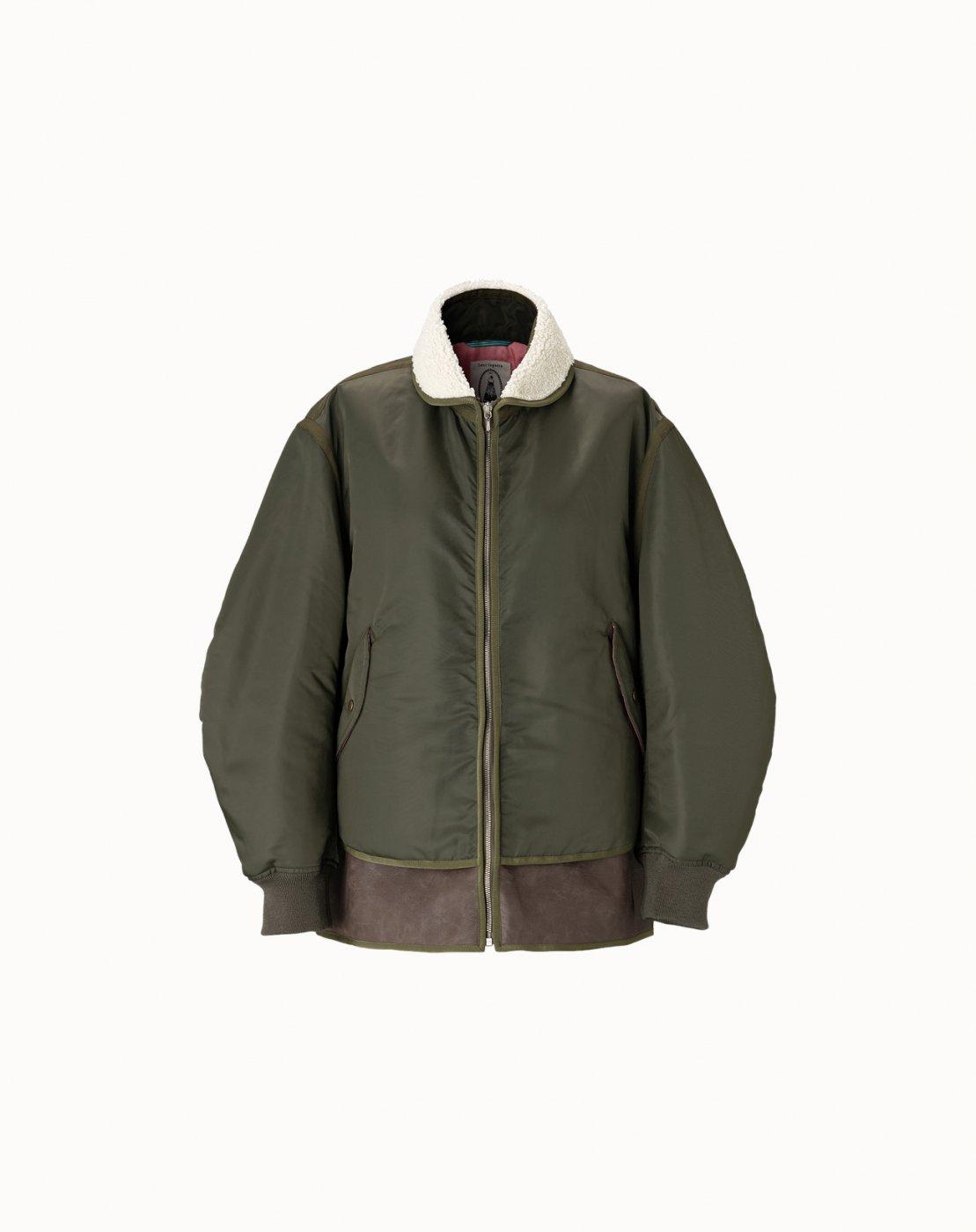 leur logette - Nylon Twill Jacket - Khaki