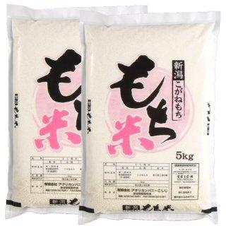 新潟県特別栽培米 越の金翔米 こがねもち 精米 10kg