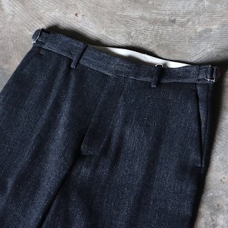 <img class='new_mark_img1' src='https://img.shop-pro.jp/img/new/icons8.gif' style='border:none;display:inline;margin:0px;padding:0px;width:auto;' />【ENCENS】Straight Pants(Wool / Linen)