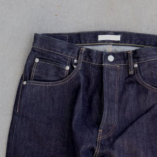 <img class='new_mark_img1' src='https://img.shop-pro.jp/img/new/icons8.gif' style='border:none;display:inline;margin:0px;padding:0px;width:auto;' />【HATSKI】Loose Tapered Denim -One Wash
