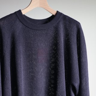 <img class='new_mark_img1' src='https://img.shop-pro.jp/img/new/icons8.gif' style='border:none;display:inline;margin:0px;padding:0px;width:auto;' />【unfil】french linen ribbed-knit pullover