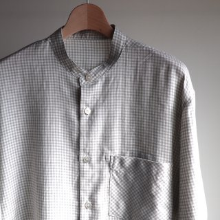<img class='new_mark_img1' src='https://img.shop-pro.jp/img/new/icons8.gif' style='border:none;display:inline;margin:0px;padding:0px;width:auto;' />【MAINU】Cotton Cashmere Check Shirts