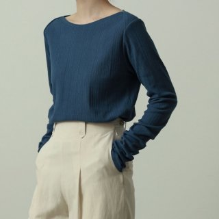 <img class='new_mark_img1' src='https://img.shop-pro.jp/img/new/icons8.gif' style='border:none;display:inline;margin:0px;padding:0px;width:auto;' />【VillD】Twist multi rib cut and sew