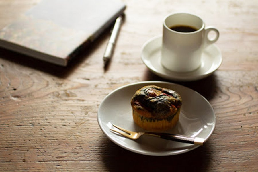 炭のリンゴカップケーキ5個セット  優しい甘さと酸味の紅玉