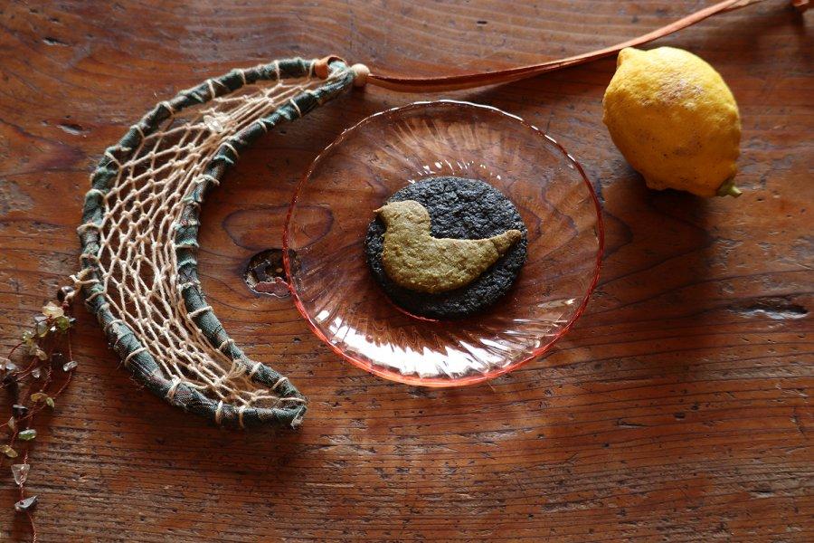 幸せの青い鳥クッキー7枚セット 無農薬レモン皮ごと使用  安心おやつ