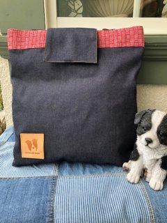 New★児島デニム+畳縁仕様!2WAYバッグ!・トートバッグとリュックに使い分けできます。(大サイズ)