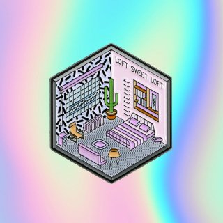 Isometric Loft Pin / Studio Cult