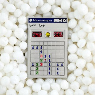Minesweeper Pin / Studio Cult