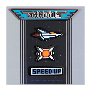 Gradius Pin Set [Pins] / The Yetee