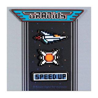 Gradius Pin Set [Pins] / The Yetee