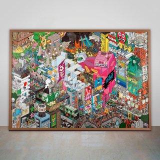 Tokyo Poster / eBoy
