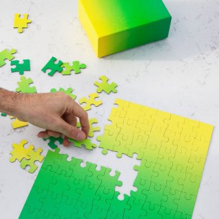 Gradient Puzzle - Small [100 pieces] / AREAWARE